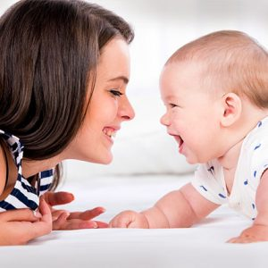 How to help the baby talk
